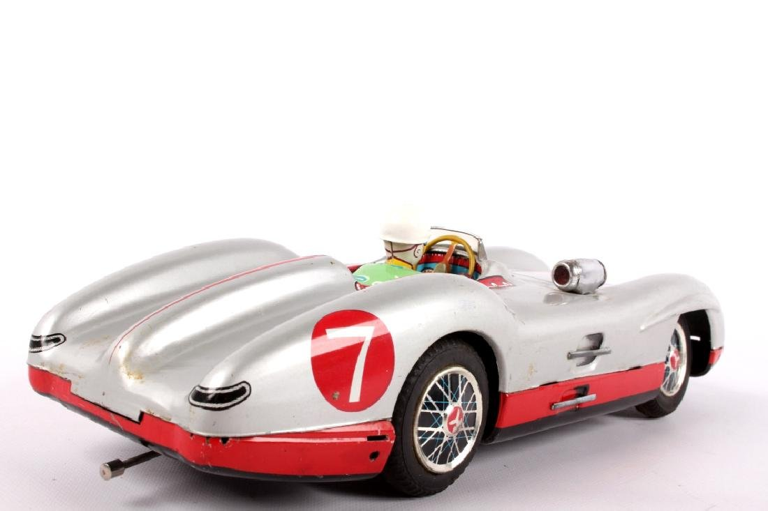 Marusan Toys, Mercedes W196 Battery Operated Toy - 5
