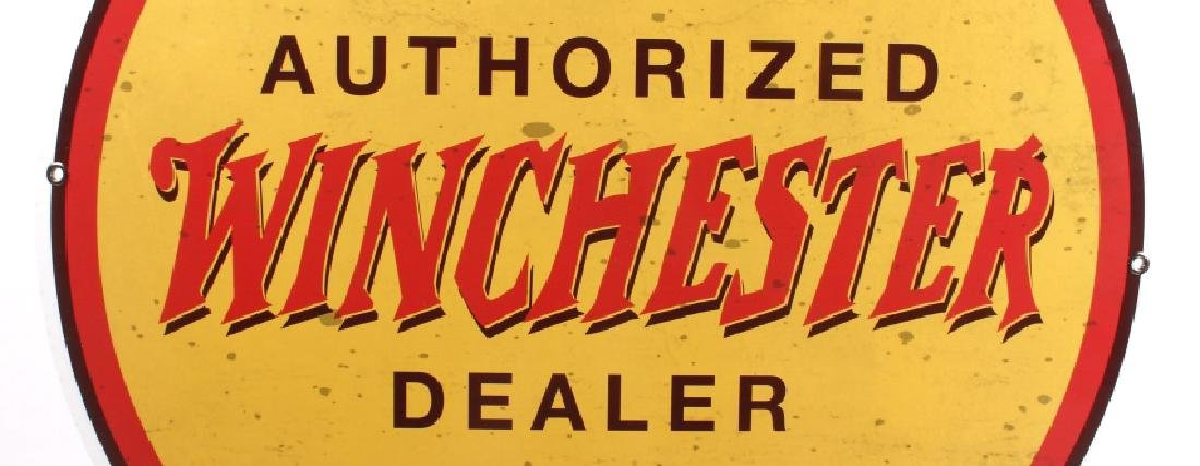 "Winchester ""Authorized Dealer"" Advertising Sign - 2"