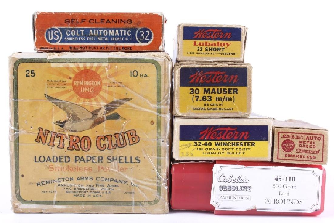 Assorted Vintage & Hard to Find Ammunition