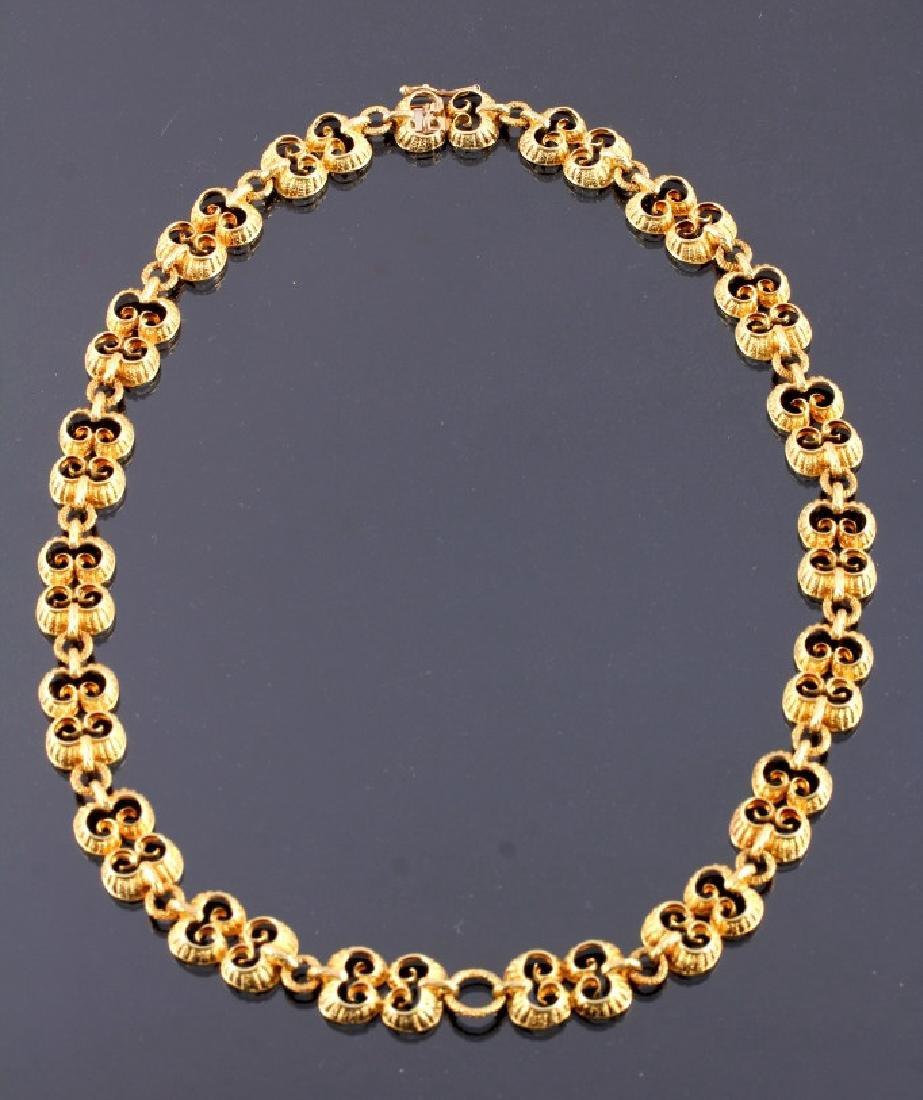 Exquisite Antique 18K Gold Necklace