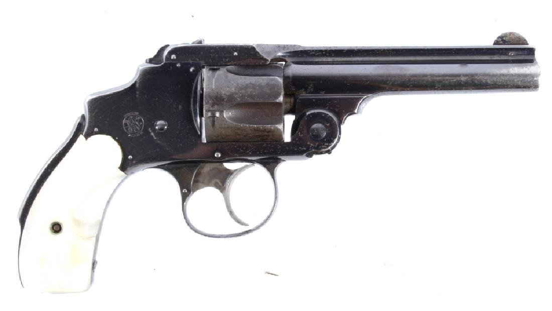S&W  38 Safety Hammerless 3rd Model Revolver