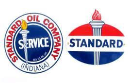 Standard Oil Porcelain Advertising Signs