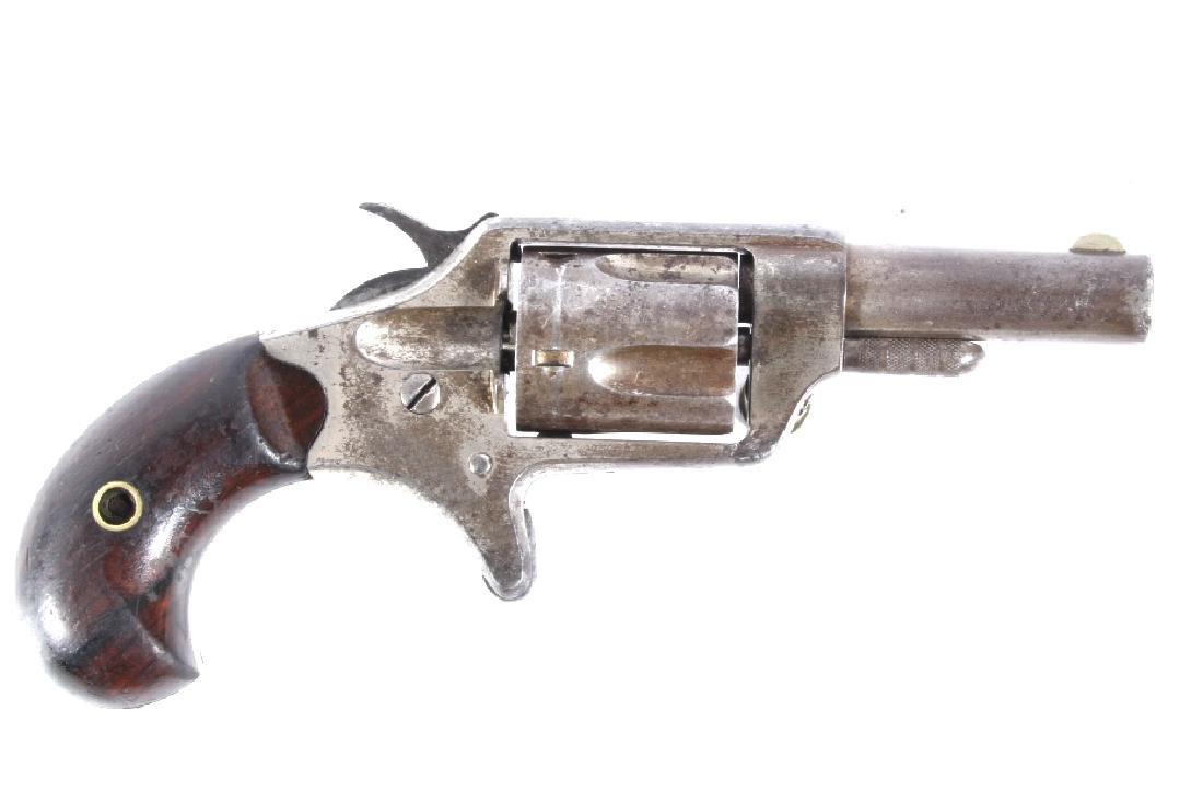 Colt New Line .32 RF Nickel Revolver 1874