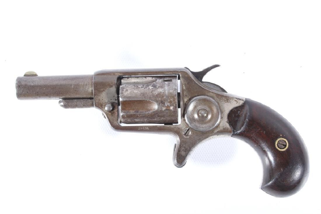 Colt New Line .32 RF Nickel Revolver 1874 - 4
