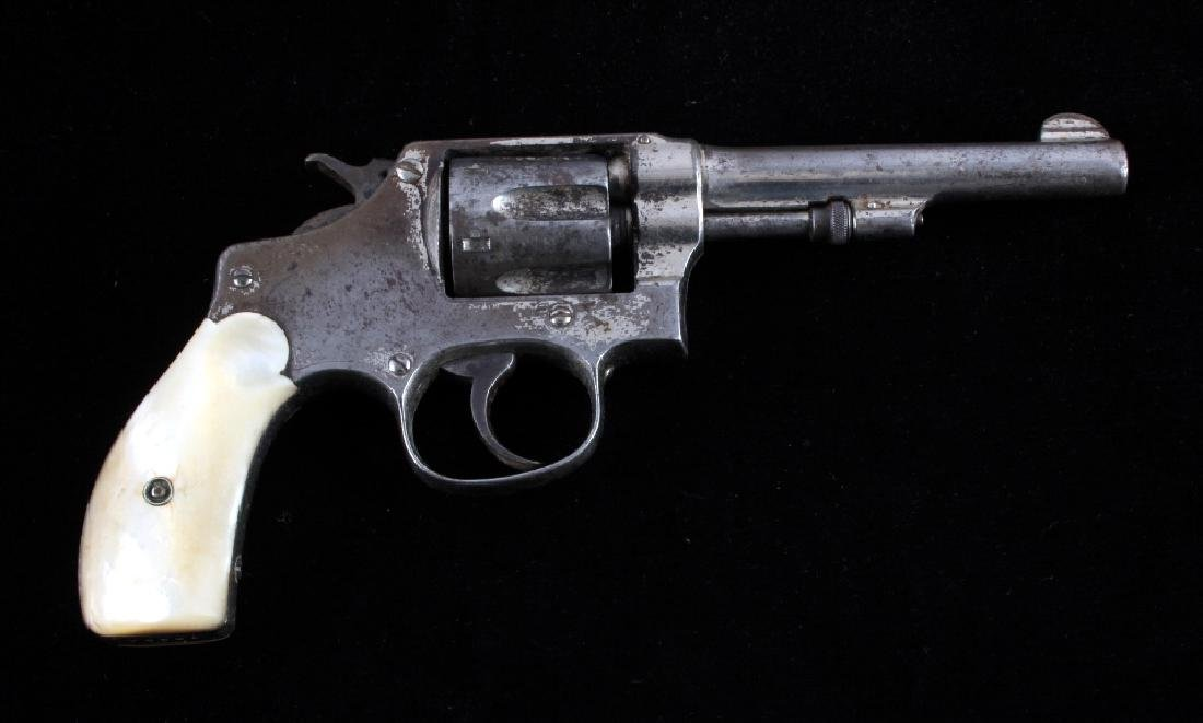 Smith & Wesson 1903 2nd Change .32 DA Revolver - 2