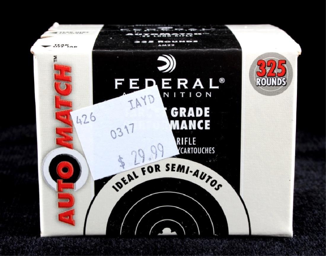 3,250 Rounds .22LR Federal Automatch Ammunition - 5