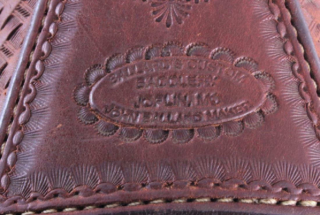 Ballard Custom Tooled Leather Saddlebags Joplin MO - 5