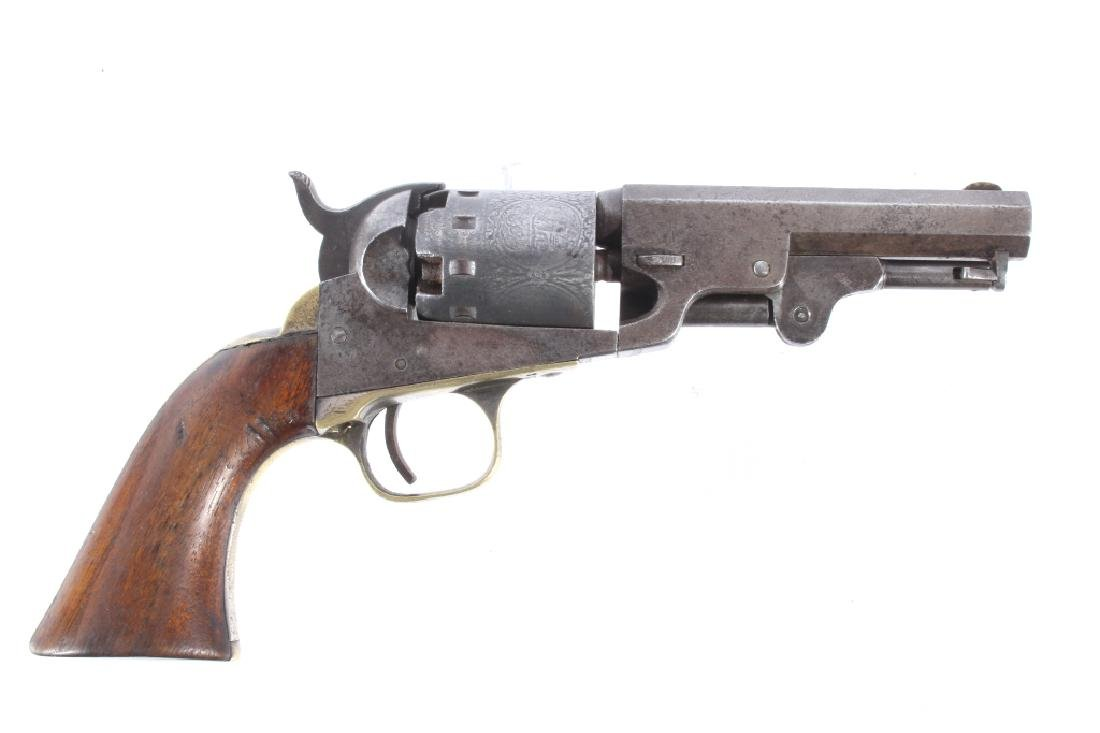 Manhattan Firearm .36 Colt 1859 Engraved Revolver