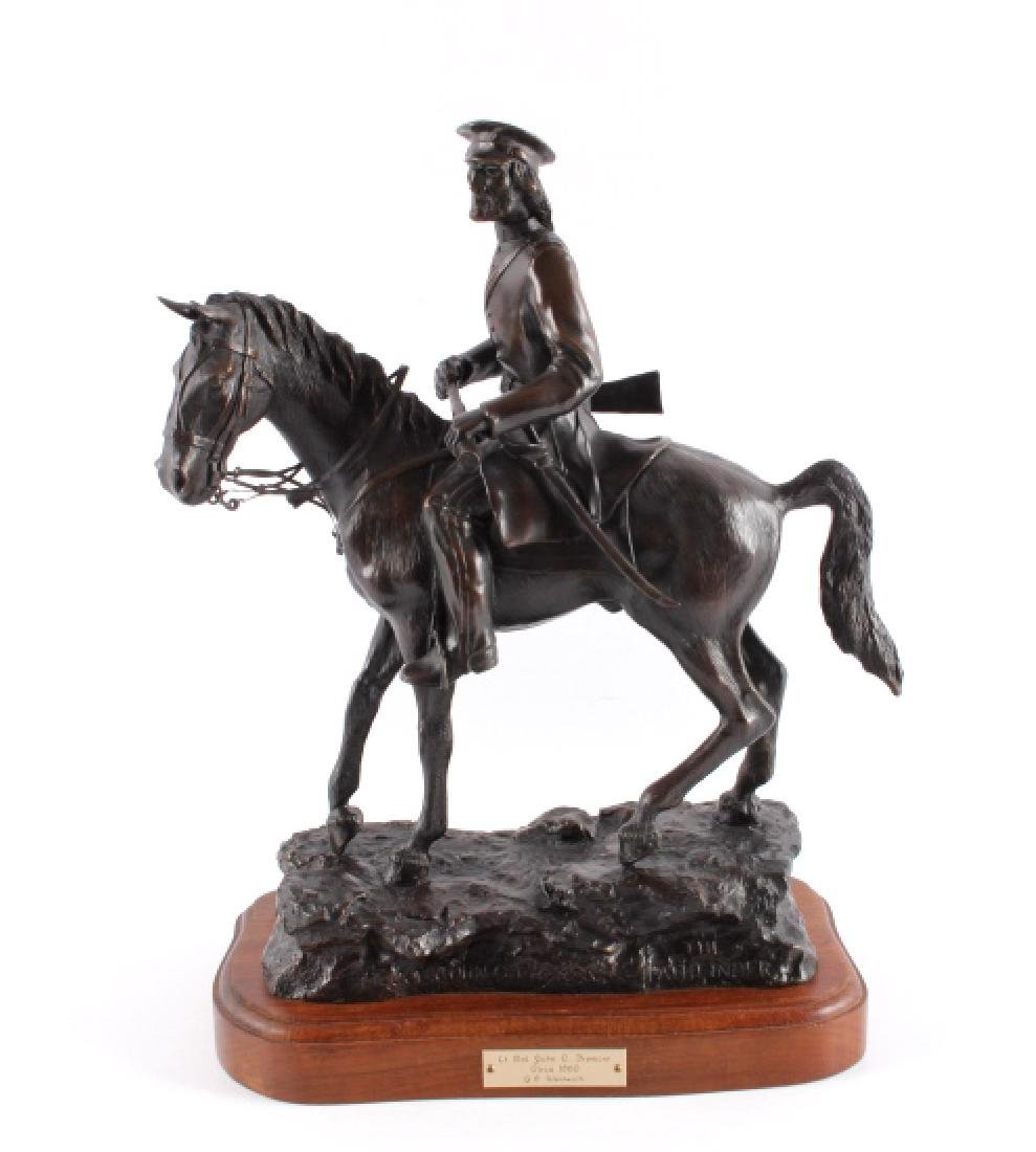 G.C. Wentworth Lt. Col. Fremont Bronze Sculpture