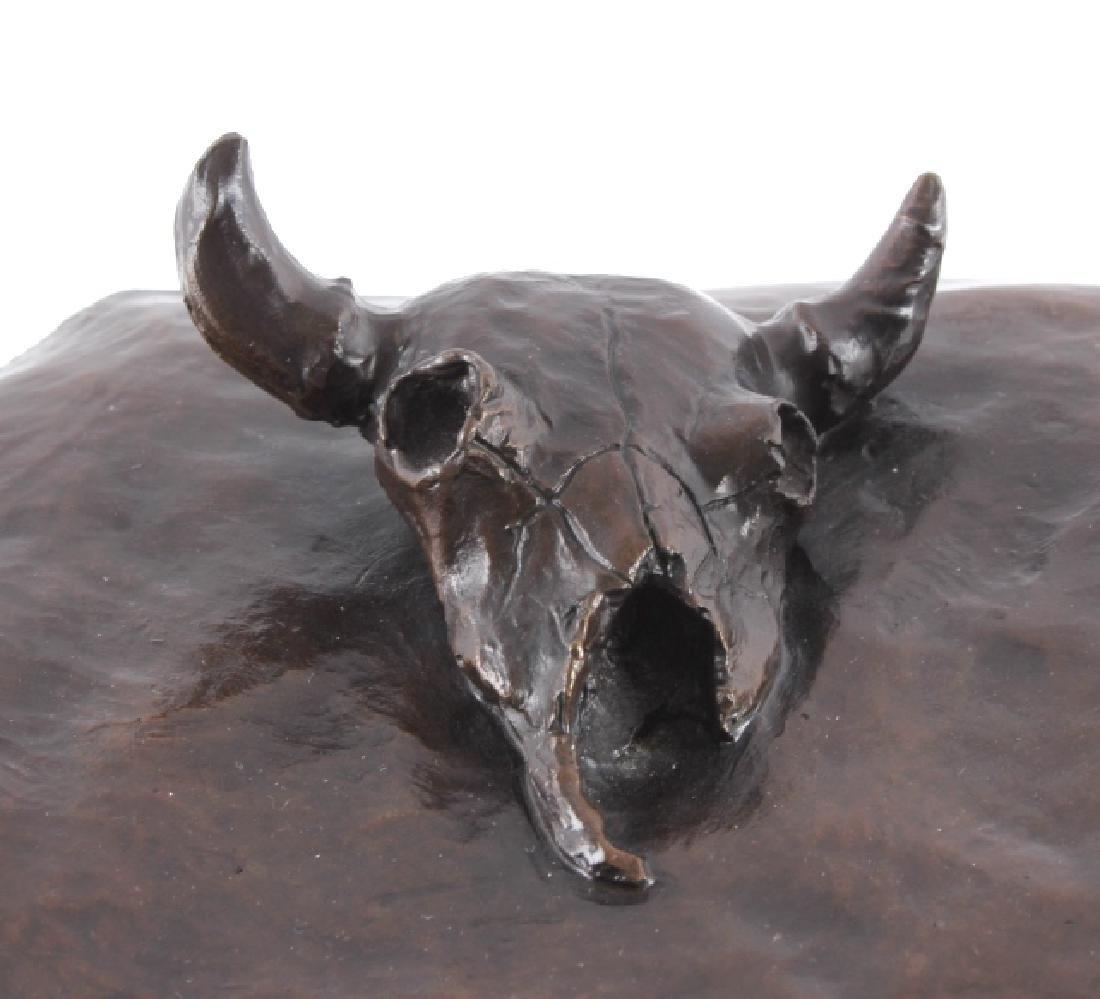 Original G.C. Wentworth Coyote Bronze Sculpture - 5