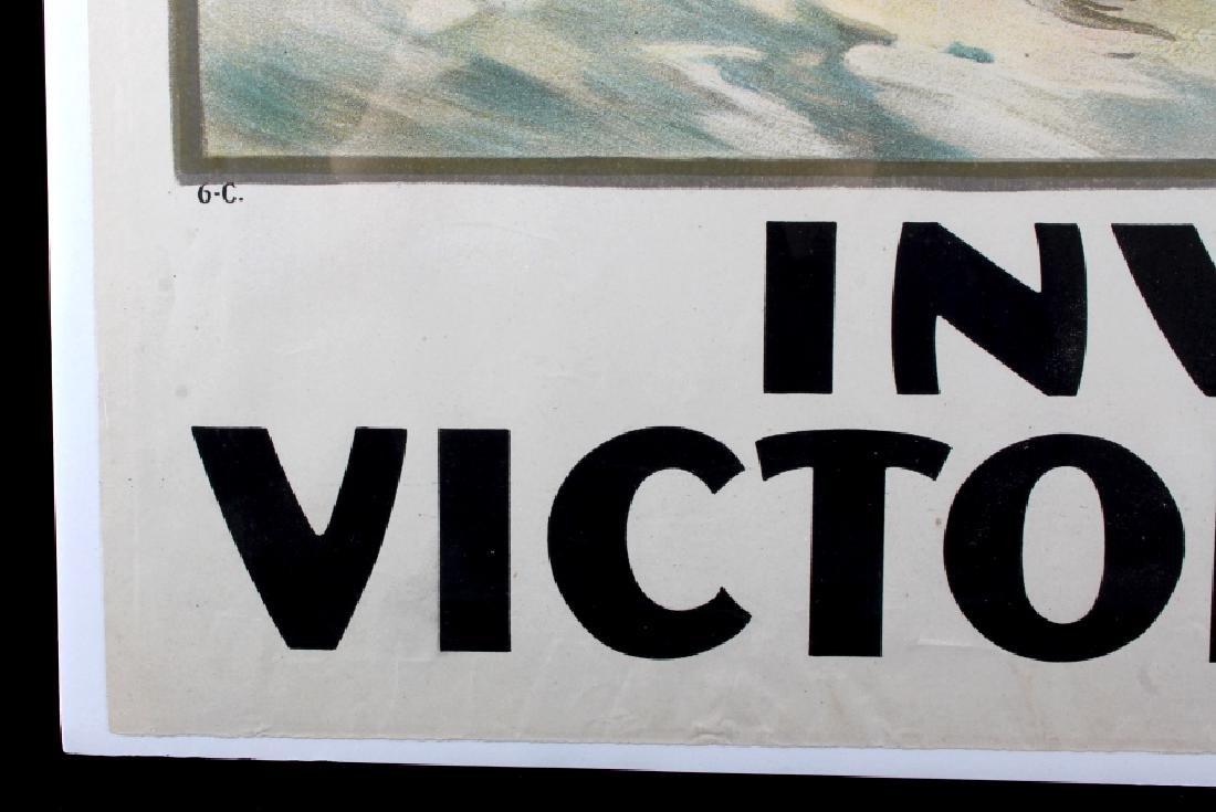 Original WWI Victory Liberty Loan War Bond Poster - 11