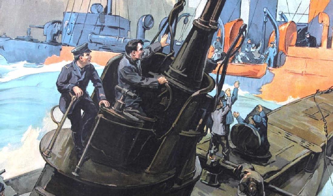 Original WWI Victory Liberty Loan War Bond Poster - 2