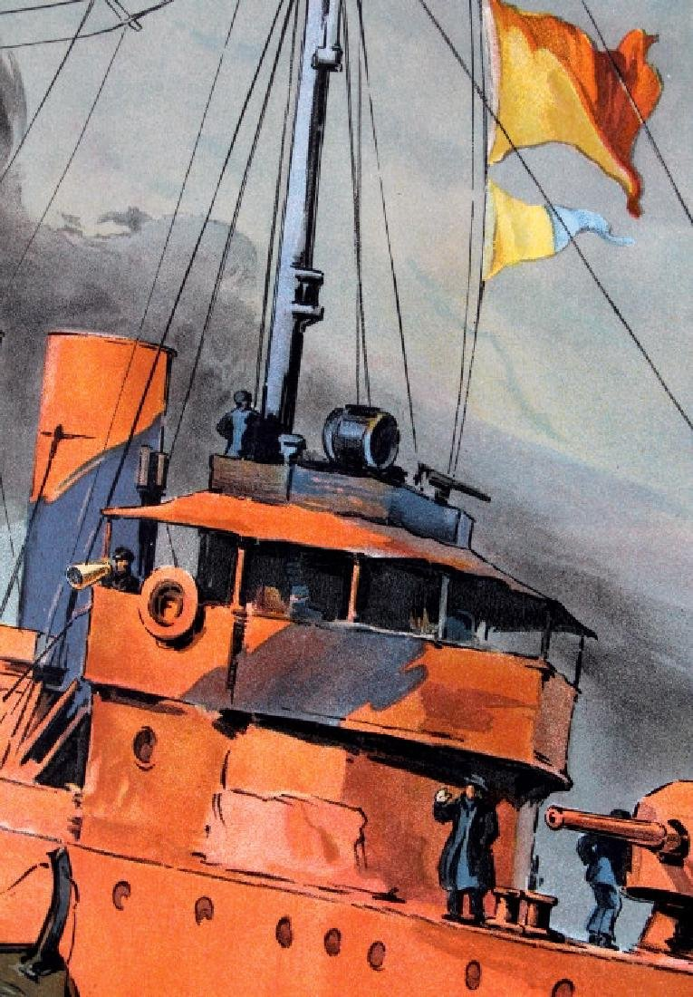 Original WWI Victory Liberty Loan War Bond Poster - 4