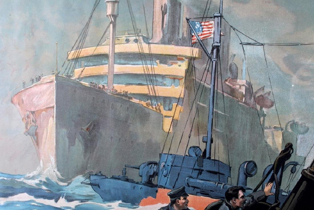 Original WWI Victory Liberty Loan War Bond Poster - 6