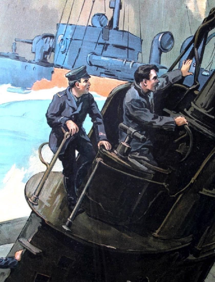 Original WWI Victory Liberty Loan War Bond Poster - 8