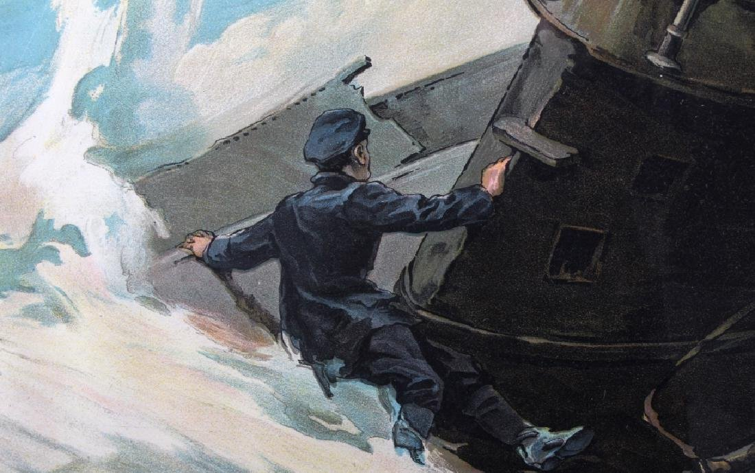 Original WWI Victory Liberty Loan War Bond Poster - 9