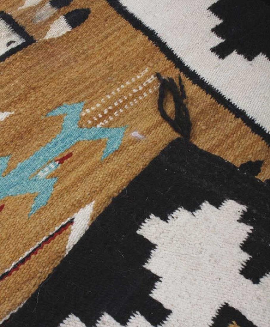 Fine Navajo Figural Yei Wool Rug - 3