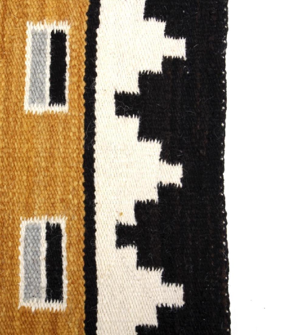 Fine Navajo Figural Yei Wool Rug - 8