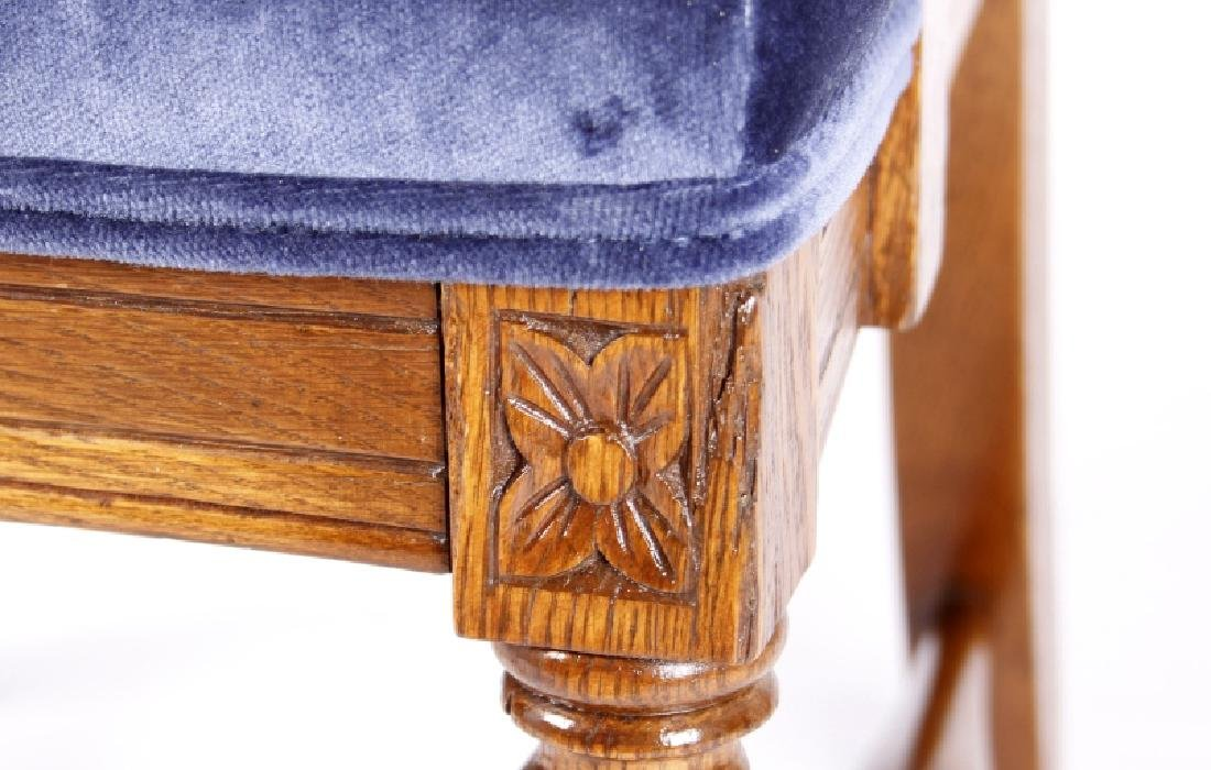 R.J. Horner & Co. Finely Carved Chairs c 1880-1890 - 4
