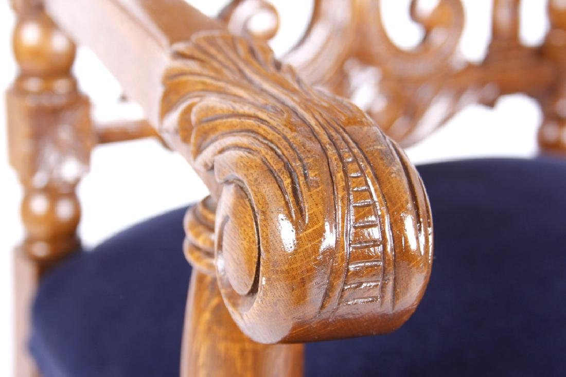 R.J. Horner & Co. Finely Carved Chairs c 1880-1890 - 5