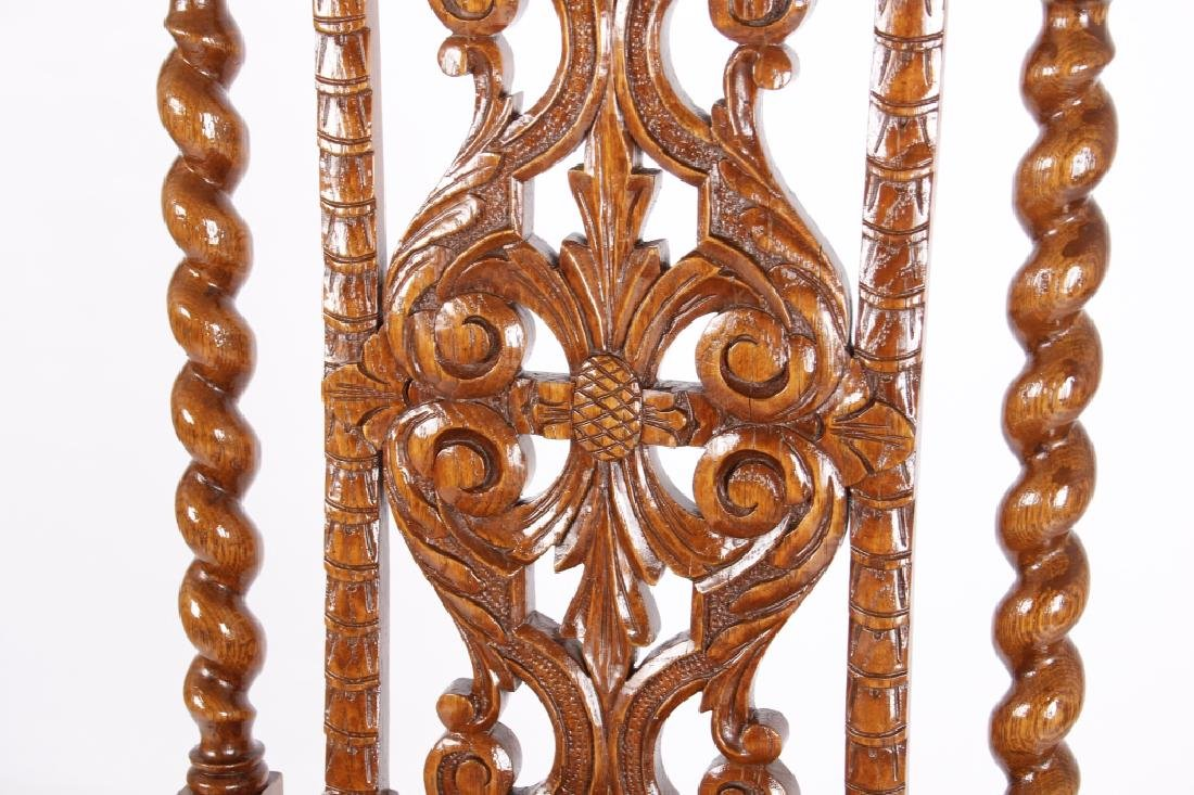 R.J. Horner & Co. Finely Carved Chairs c 1880-1890 - 9