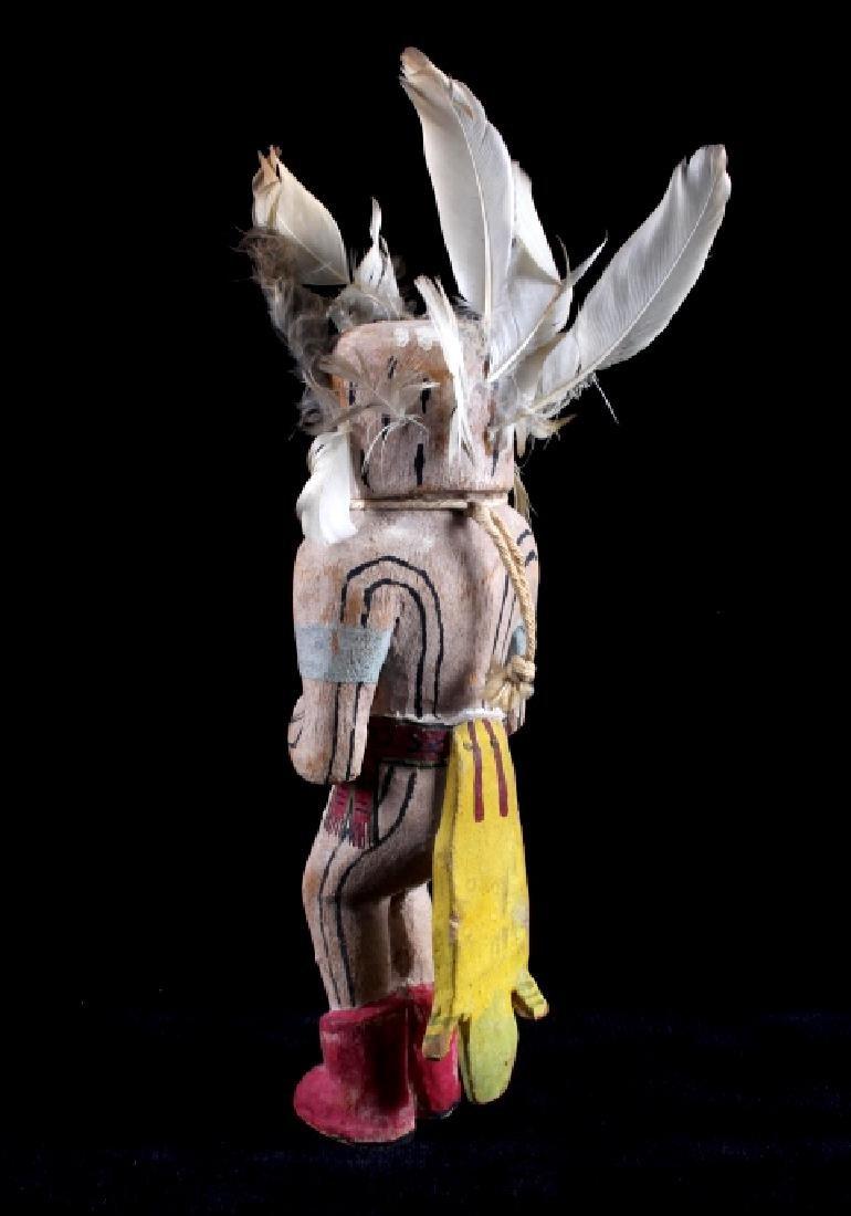 Hopi Prairie Falcon Polychrome Kachina c. 1890 - 4