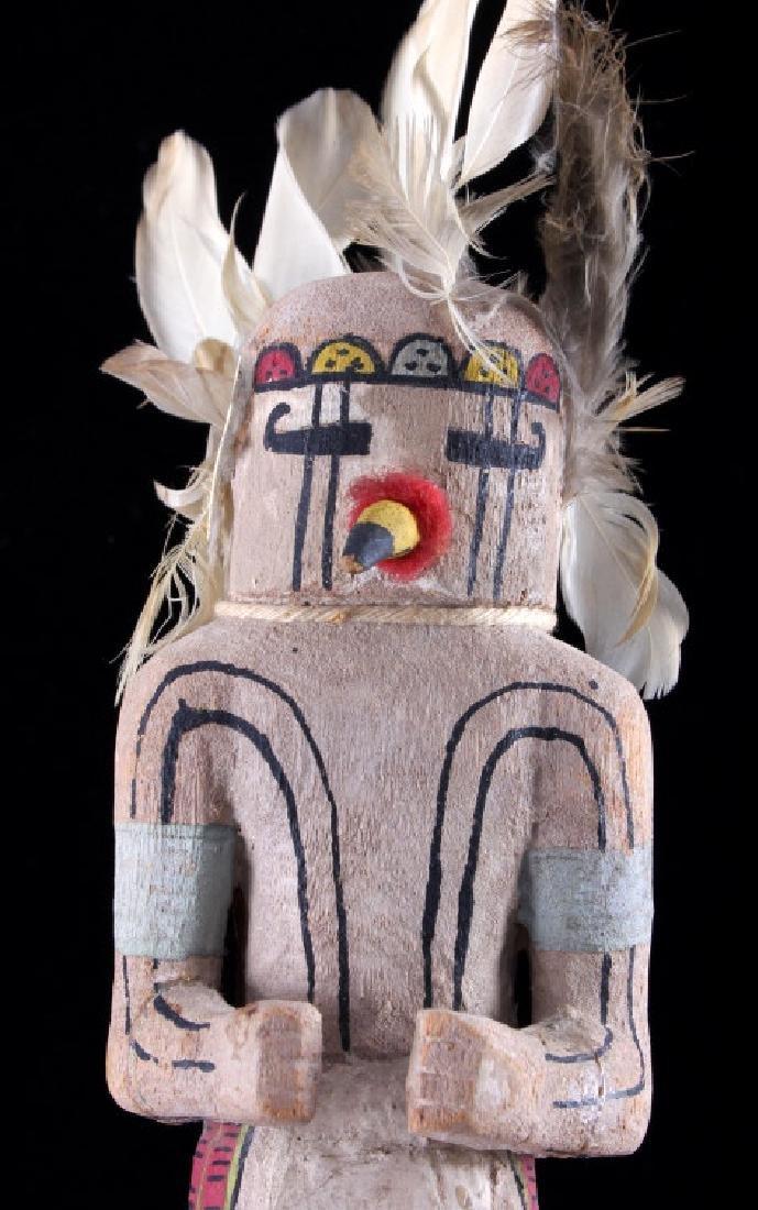 Hopi Prairie Falcon Polychrome Kachina c. 1890 - 6