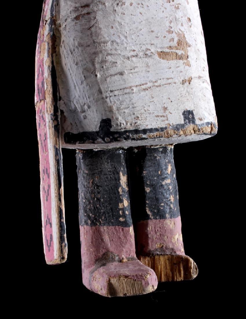 Zuni Polychrome Cottonwood Kachina c. 1890-1900 - 10