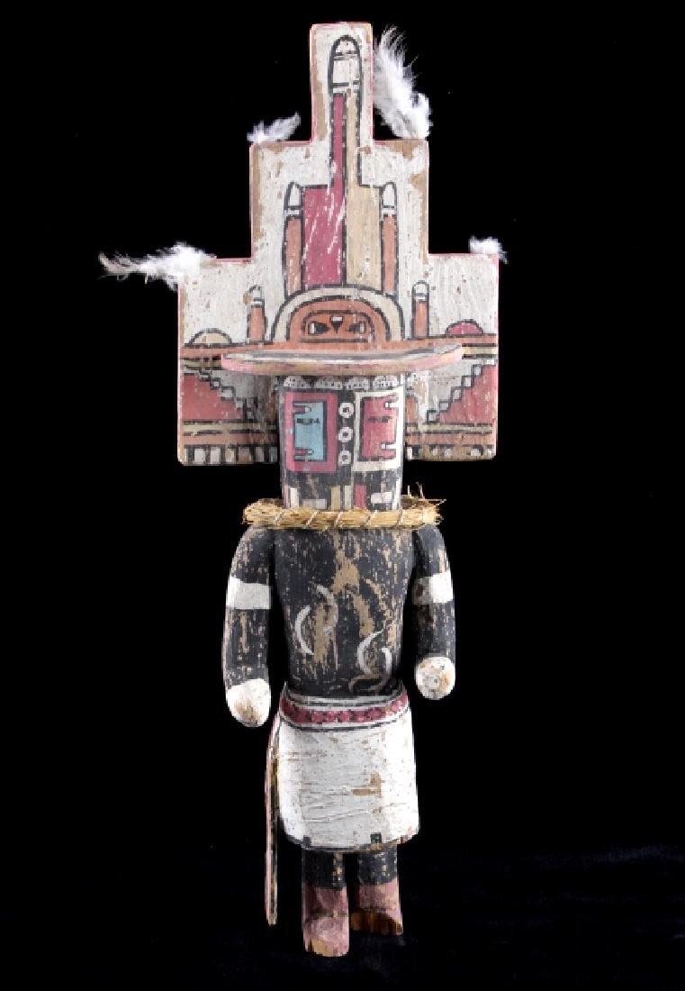 Zuni Polychrome Cottonwood Kachina c. 1890-1900