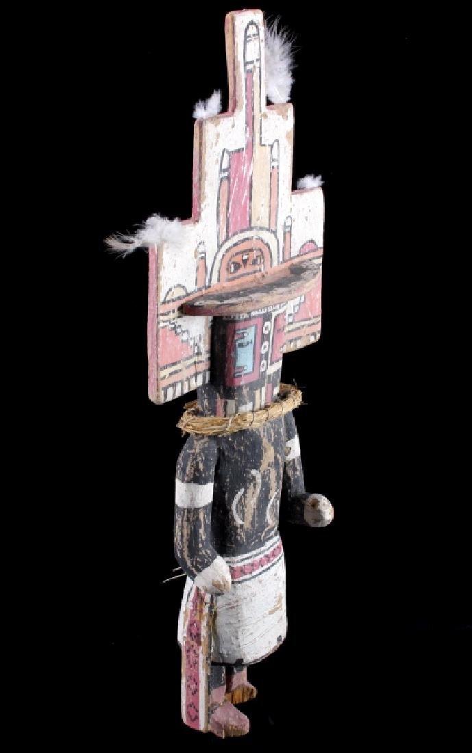 Zuni Polychrome Cottonwood Kachina c. 1890-1900 - 2