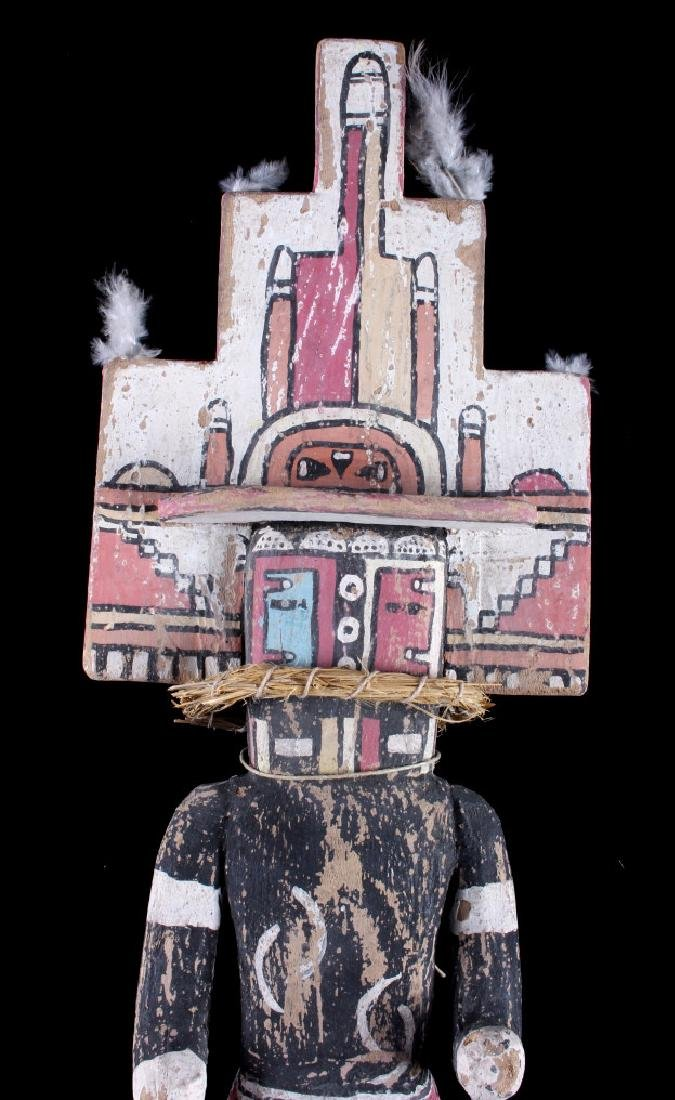 Zuni Polychrome Cottonwood Kachina c. 1890-1900 - 4