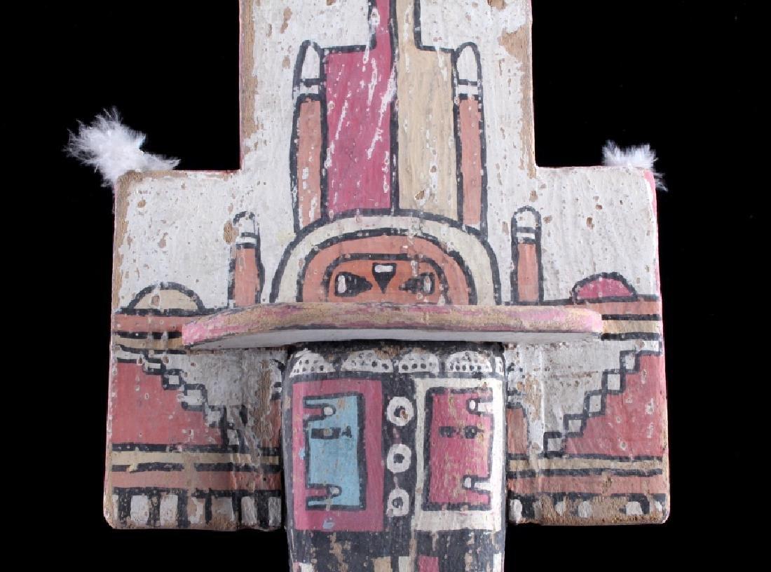 Zuni Polychrome Cottonwood Kachina c. 1890-1900 - 5