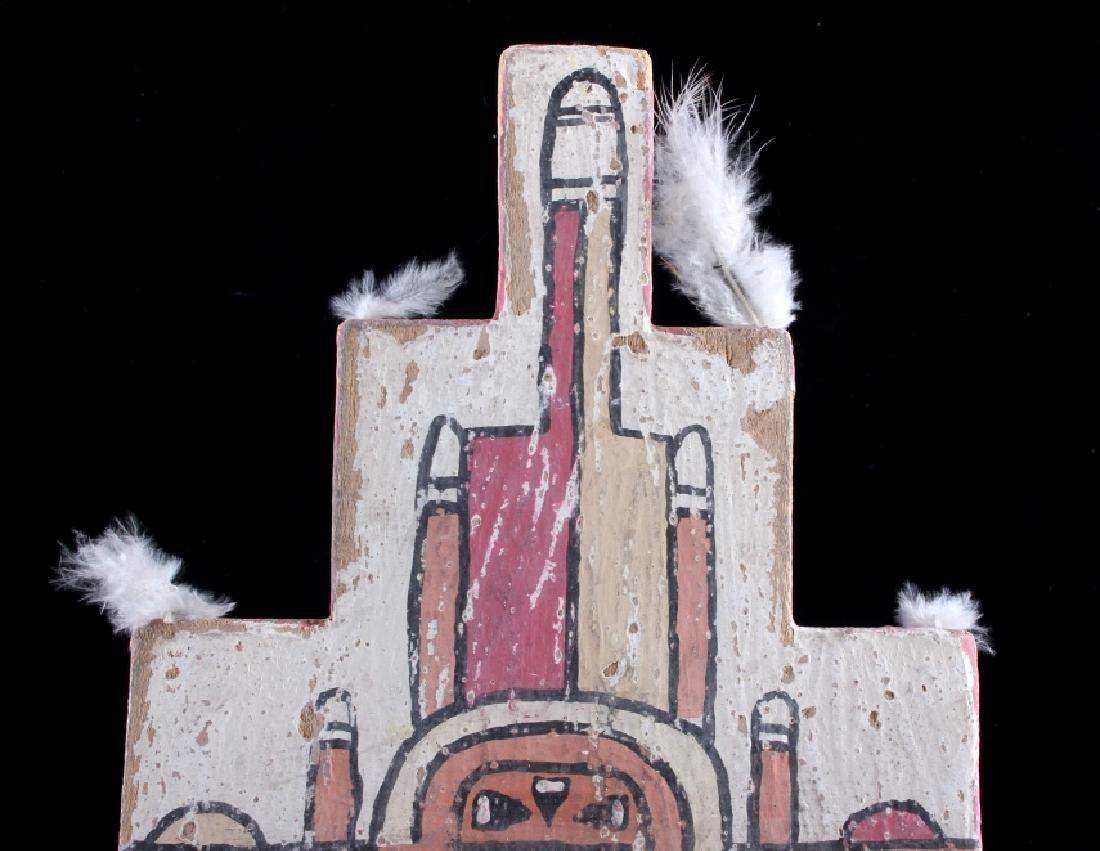 Zuni Polychrome Cottonwood Kachina c. 1890-1900 - 6