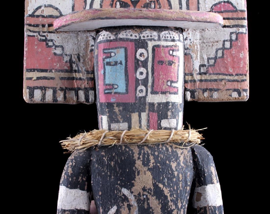 Zuni Polychrome Cottonwood Kachina c. 1890-1900 - 7