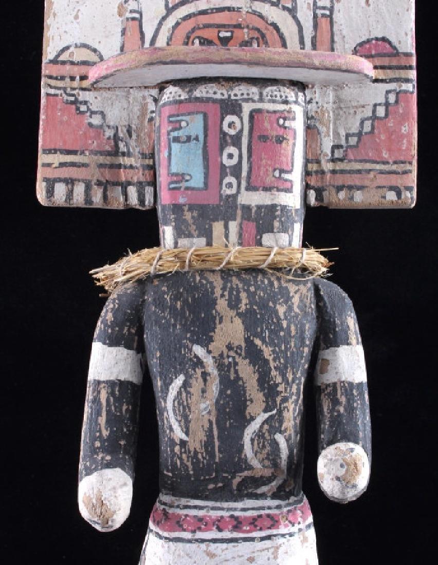 Zuni Polychrome Cottonwood Kachina c. 1890-1900 - 8