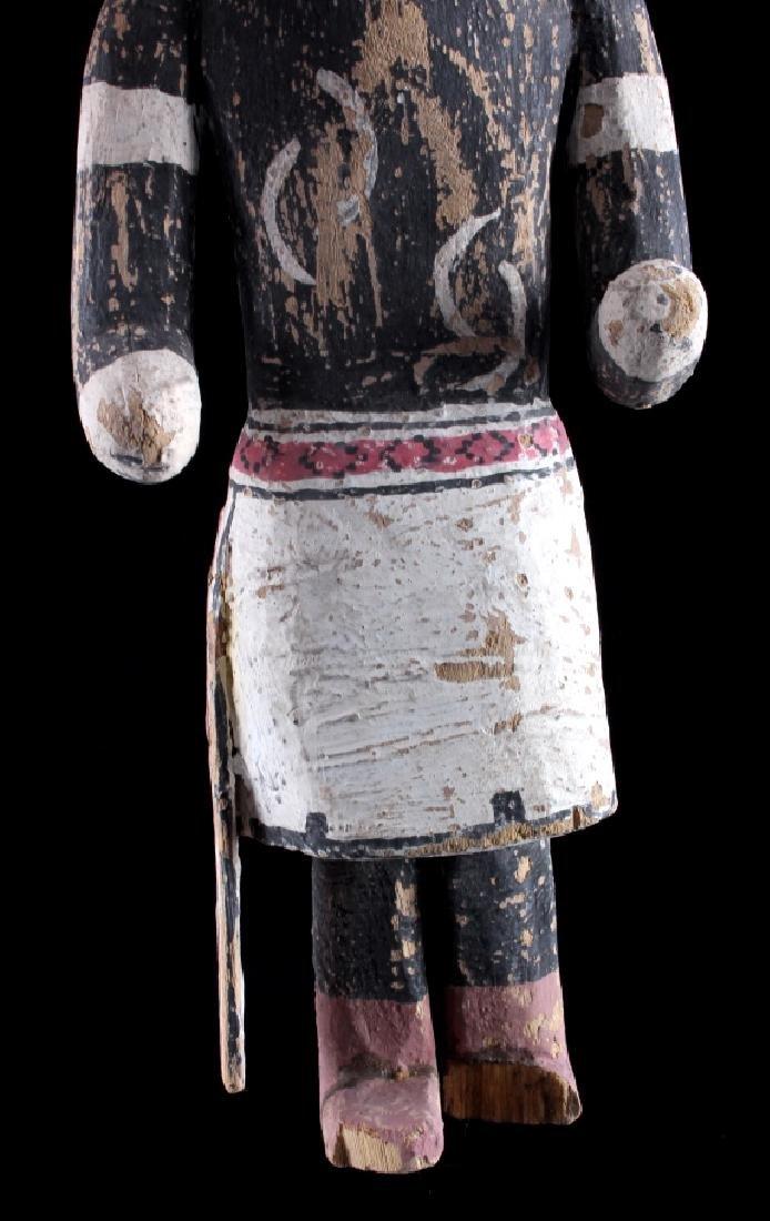 Zuni Polychrome Cottonwood Kachina c. 1890-1900 - 9
