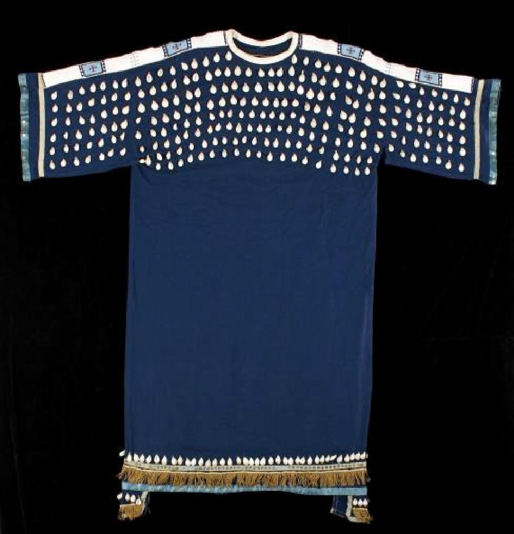 Sioux Cowry Shell & Beaded Woman's Dress 1880-1890 - 2