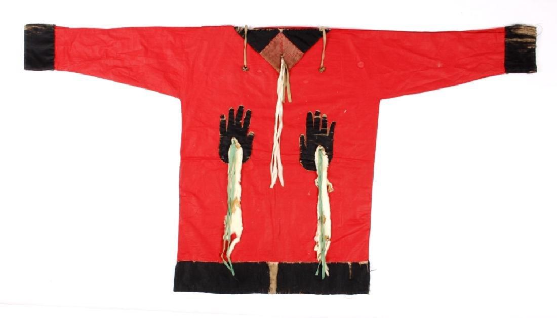 Osage Wakondah War Shirt Medicine Man c. 1890