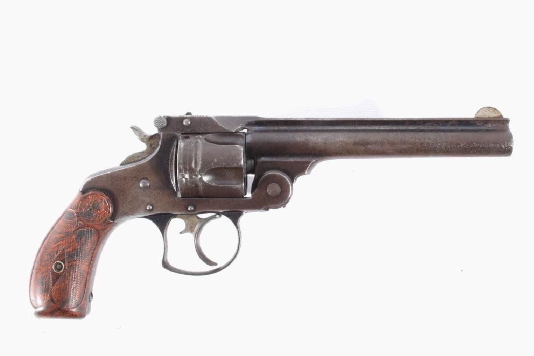 Early Smith & Wesson 2nd Model .38 Cal DA Revolver