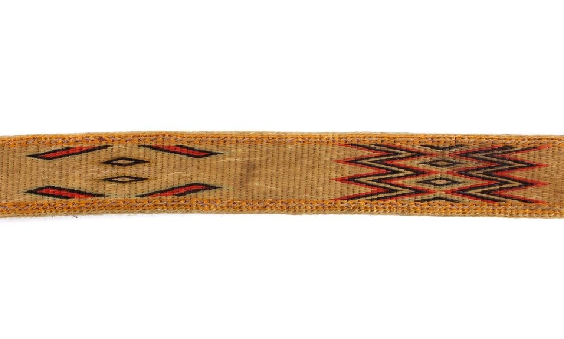 Early Deer Lodge Prison Hitched Horsehair Belt - 10