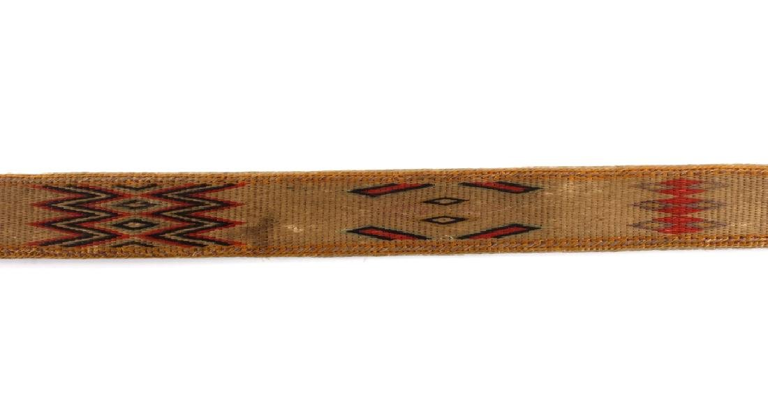 Early Deer Lodge Prison Hitched Horsehair Belt - 9