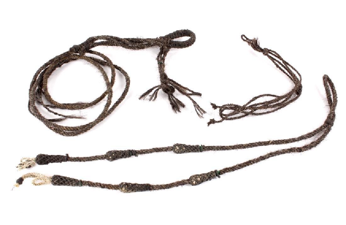 Braided Horsehair Equestrian Headstall
