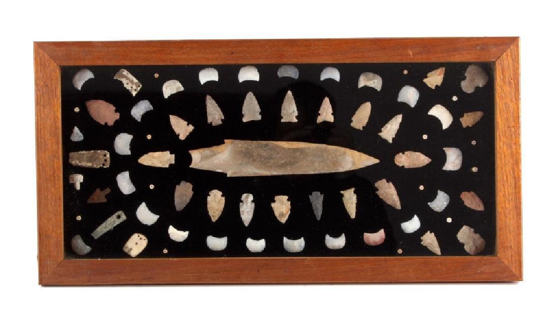 Texas Native American Indian Artifact Collection