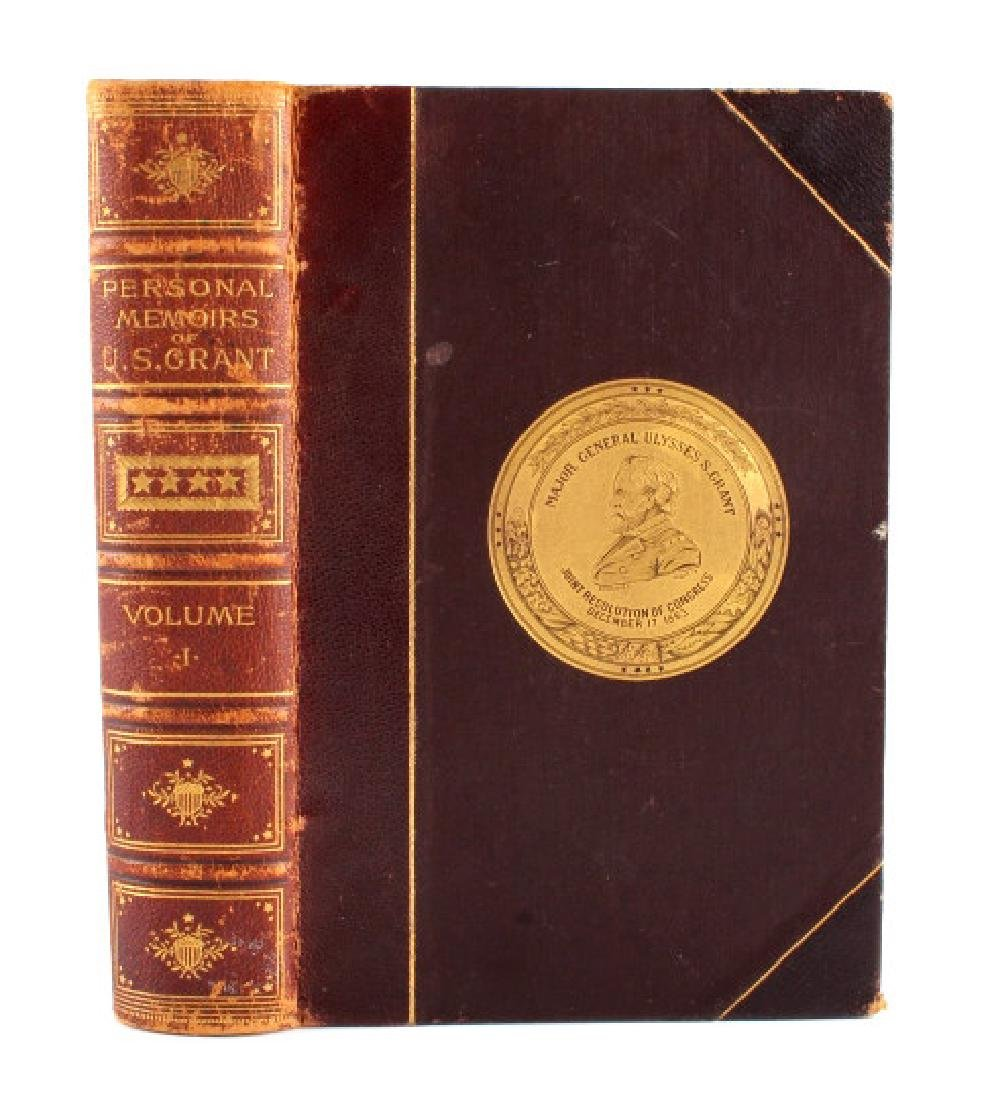 Personal Memoirs of U.S. Grant Leather 1st Edition - 2