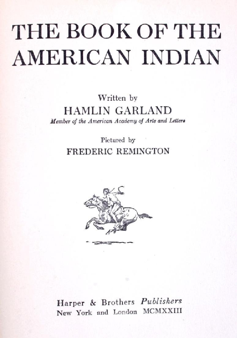 Book of the American Indian Hamlin Garland 1923 - 3