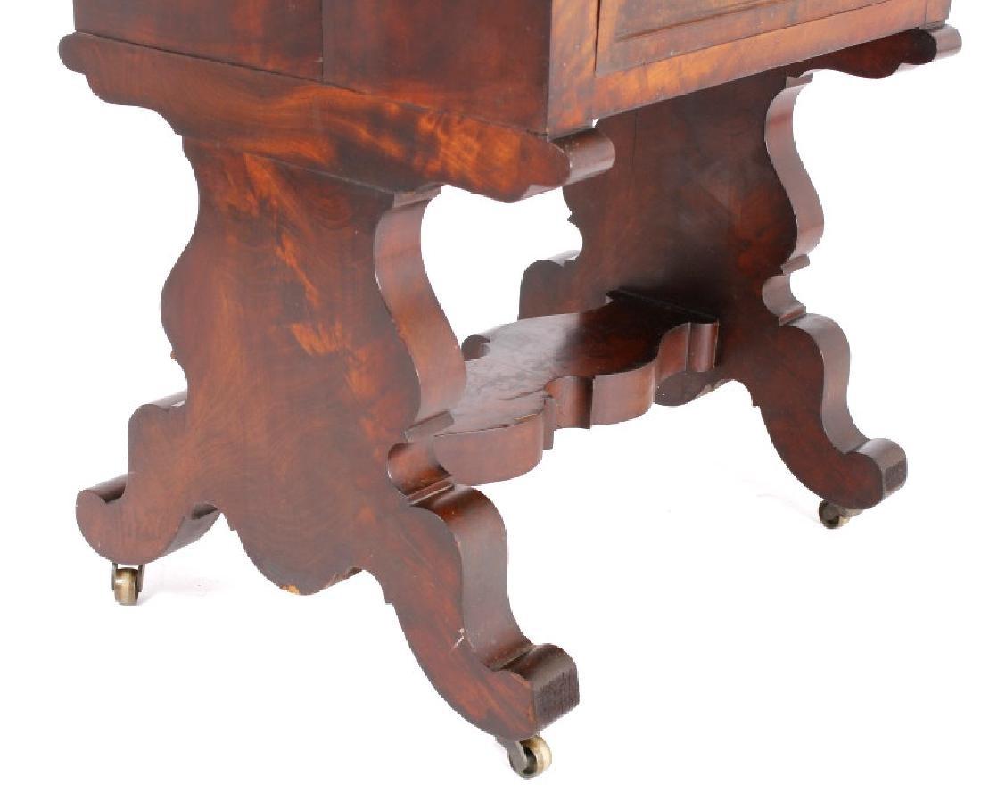Empire Drop-Leaf Secretary Pen Table c. 1840 - 9