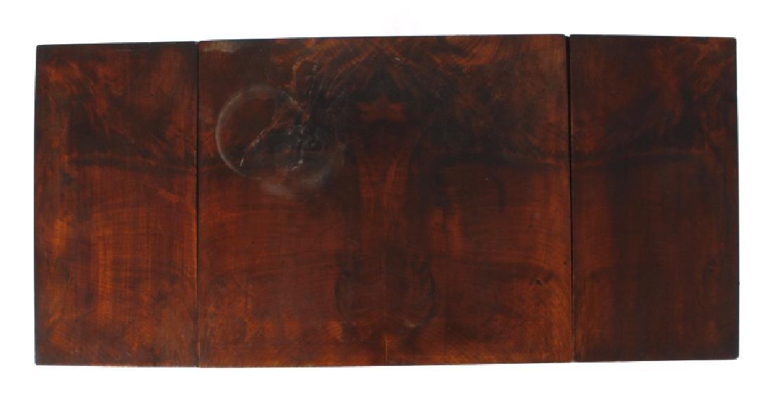 Empire Drop-Leaf Secretary Pen Table c. 1840 - 4