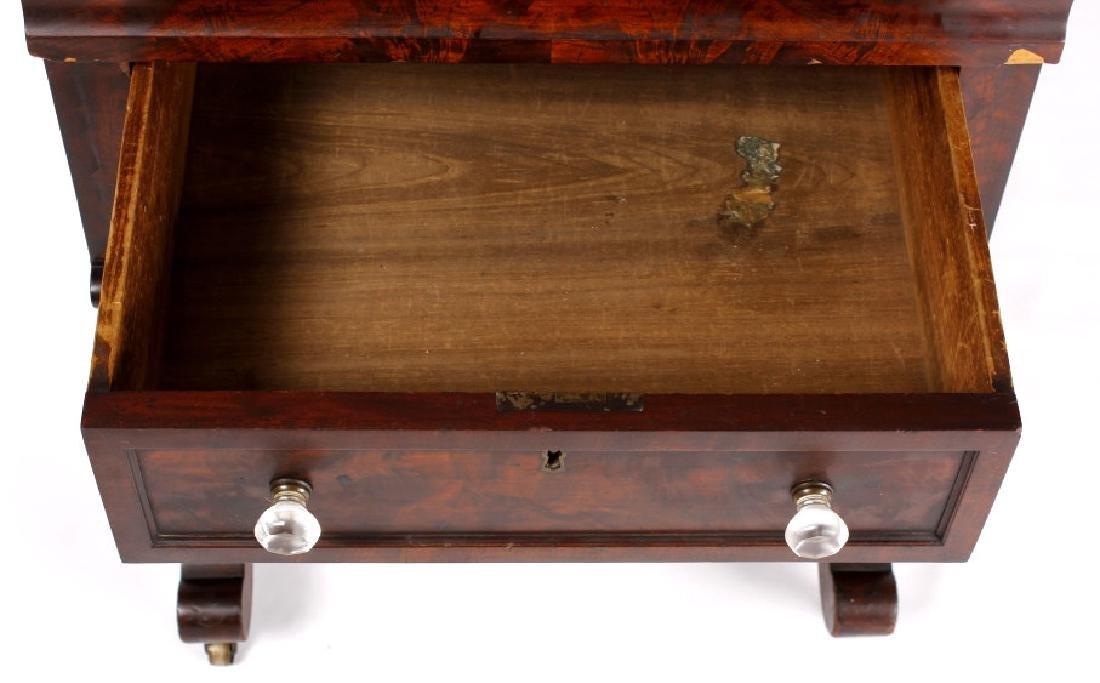 Empire Drop-Leaf Secretary Pen Table c. 1840 - 5
