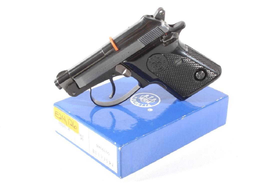 Beretta Model 20  25 ACP Semi Auto Pistol LNIB