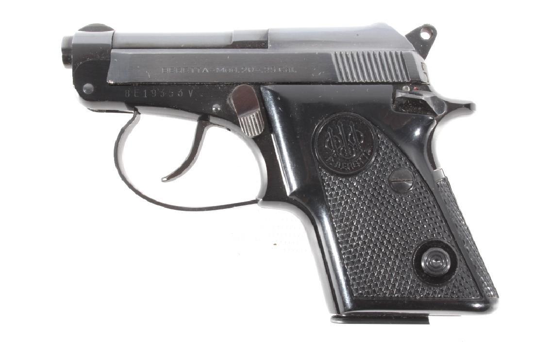 Beretta Model 20 .25 ACP Semi Auto Pistol LNIB - 6